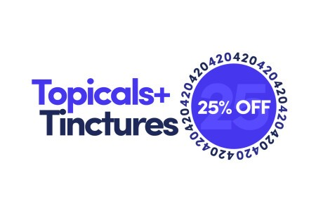 Marie's - 25% off all Topicals and Tinctures Banner